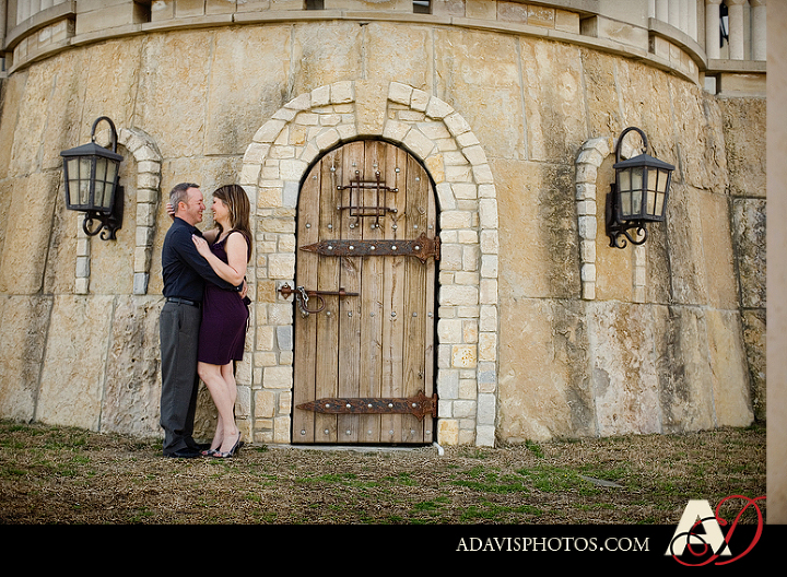 Engagement Portraits by Dallas Wedding Photographer Allison Davis Photography at Adriatica in McKinney Texas