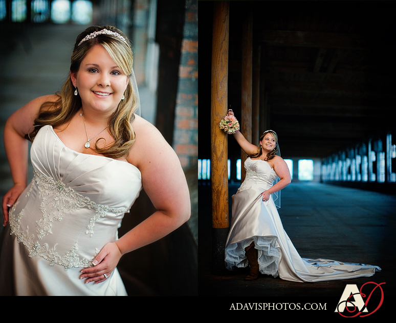 Ashley C Bridal Portraits McKinney Cotton Mill 04 Ashley: Bridal Portraits at the McKinney Cotton Mill