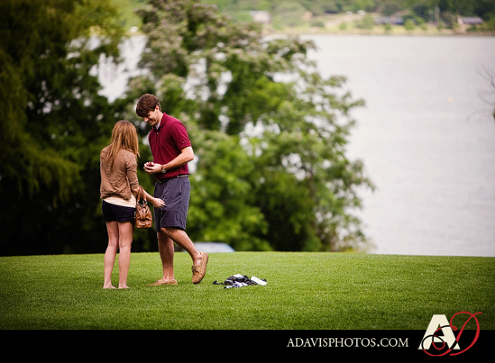 Dallas proposal photographs at the Dallas Arboretum by Frisco Wedding Photographer Allison Davis Photography