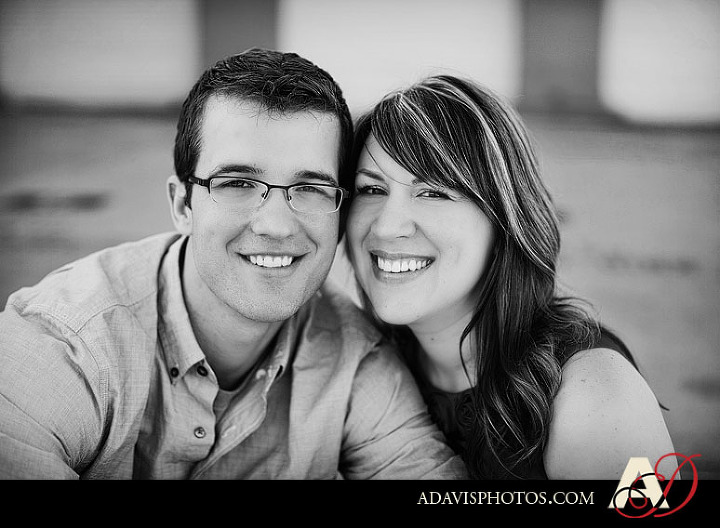 Engagement portraits in Deep Ellum by Plano Wedding photographer Allison Davis Photography