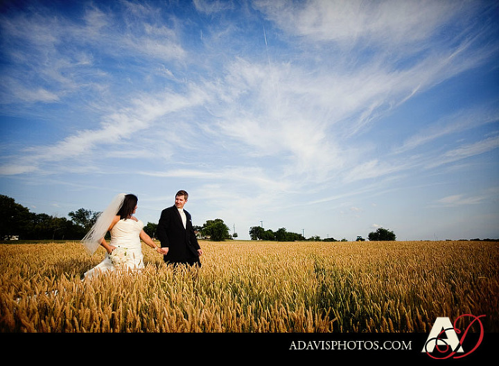 Dallas Bride & Groom Day After Portrait session in Prosper Texas by Dallas Texas Wedding Photographer Allison Davis photography