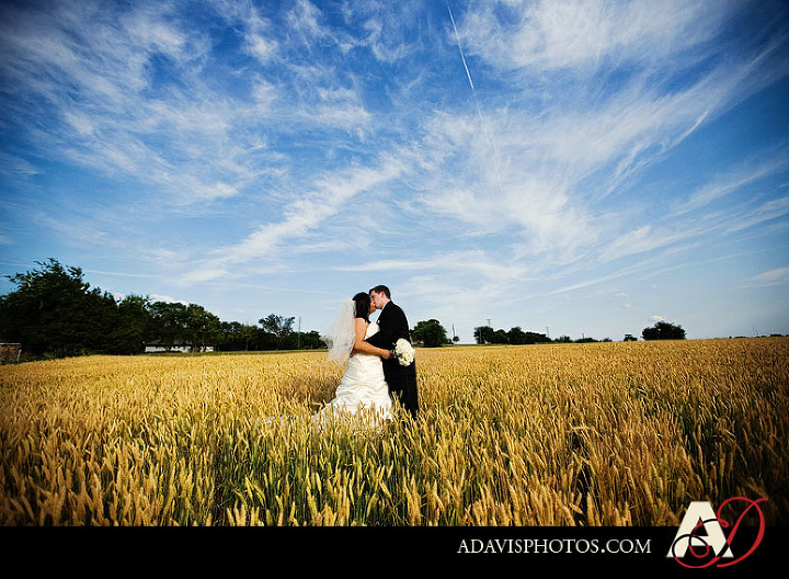 Dallas Bride & Groom Day After Portrait session in Prosper Texas by Frisco Texas Wedding Photographer Allison Davis photography