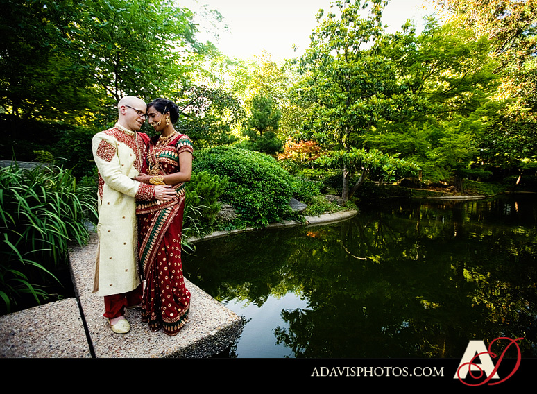 Indian American Wedding Fort Worth Botanical Gardens by Dallas Wedding Photographer Allison Davis Photography 411 Pia & Kent: Wedding at the Japanese Gardens in Fort Worth {Part 2}
