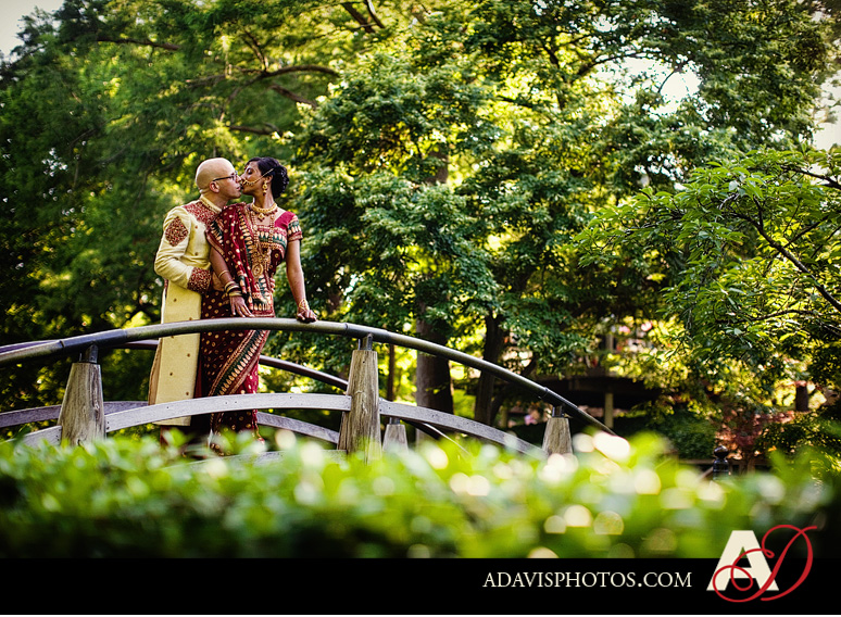Indian American Wedding Fort Worth Botanical Gardens by Dallas Wedding Photographer Allison Davis Photography 431 Pia & Kent: Wedding at the Japanese Gardens in Fort Worth {Part 2}