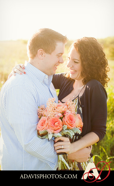 SarahJosh Romantic Picnic Engagement Portraits by Dallas Wedding Photographer Allison Davis Photography 0061 Sarah + Josh: Romantic and Fun Engagement Portrait Picnic & More