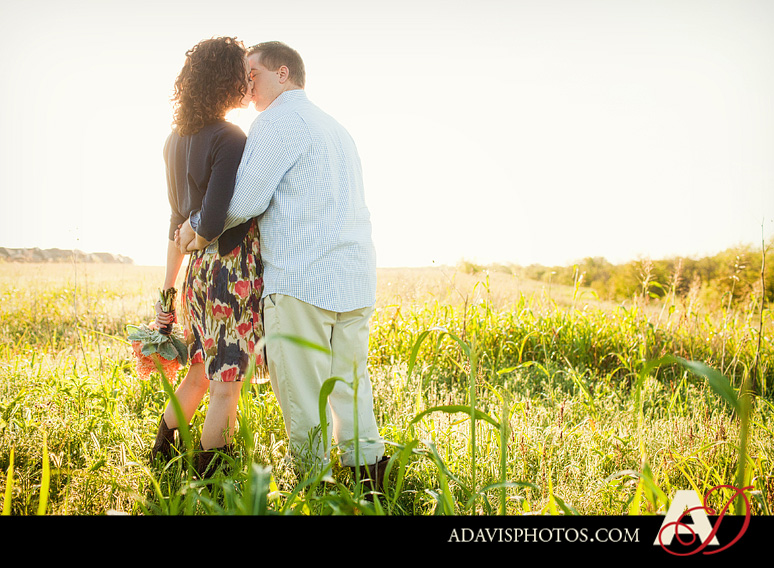 SarahJosh Romantic Picnic Engagement Portraits by Dallas Wedding Photographer Allison Davis Photography 0071 Sarah + Josh: Romantic and Fun Engagement Portrait Picnic & More
