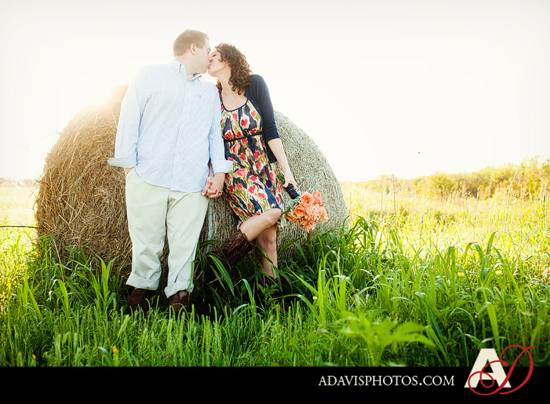 SarahJosh Romantic Picnic Engagement Portraits by Dallas Wedding Photographer Allison Davis Photography 0081 Sarah + Josh: Romantic and Fun Engagement Portrait Picnic & More