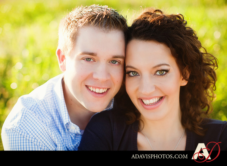 SarahJosh Romantic Picnic Engagement Portraits by Dallas Wedding Photographer Allison Davis Photography 0141 Sarah + Josh: Romantic and Fun Engagement Portrait Picnic & More