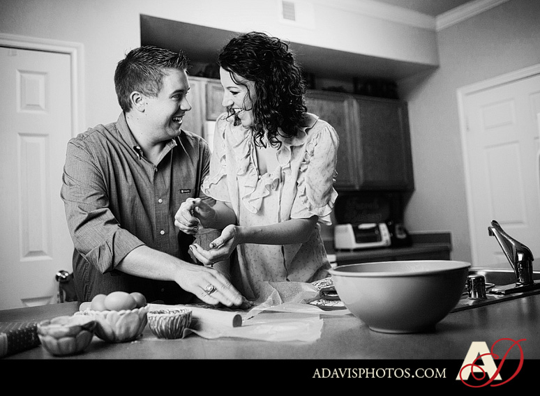 SarahJosh Romantic Picnic Engagement Portraits by Dallas Wedding Photographer Allison Davis Photography 0241 Sarah + Josh: Romantic and Fun Engagement Portrait Picnic & More