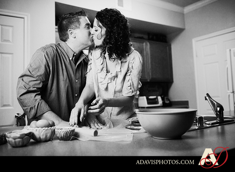 SarahJosh Romantic Picnic Engagement Portraits by Dallas Wedding Photographer Allison Davis Photography 0251 Sarah + Josh: Romantic and Fun Engagement Portrait Picnic & More