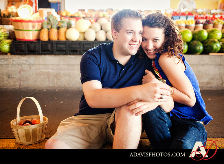 SarahJosh Romantic Picnic Engagement Portraits by Dallas Wedding Photographer Allison Davis Photography 0341 Sarah + Josh: Romantic and Fun Engagement Portrait Picnic & More