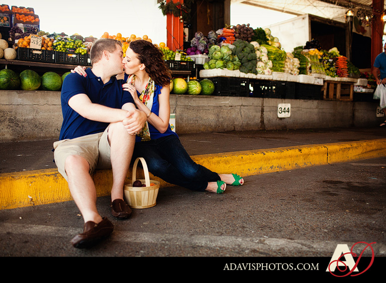 SarahJosh Romantic Picnic Engagement Portraits by Dallas Wedding Photographer Allison Davis Photography 0351 Sarah + Josh: Romantic and Fun Engagement Portrait Picnic & More