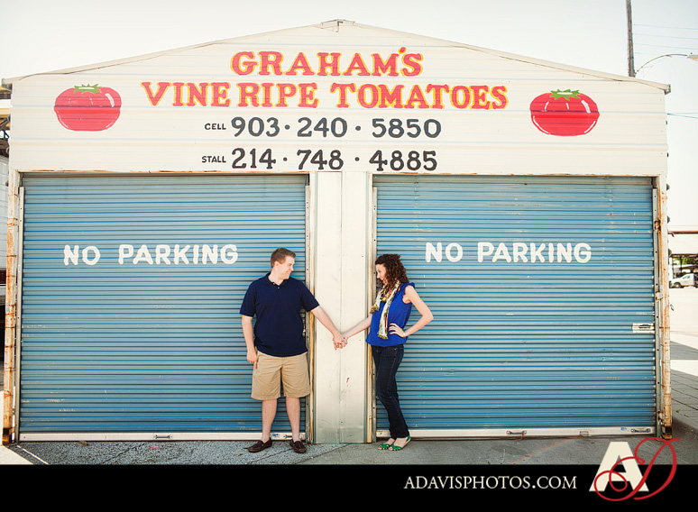 SarahJosh Romantic Picnic Engagement Portraits by Dallas Wedding Photographer Allison Davis Photography 0401 Sarah + Josh: Romantic and Fun Engagement Portrait Picnic & More
