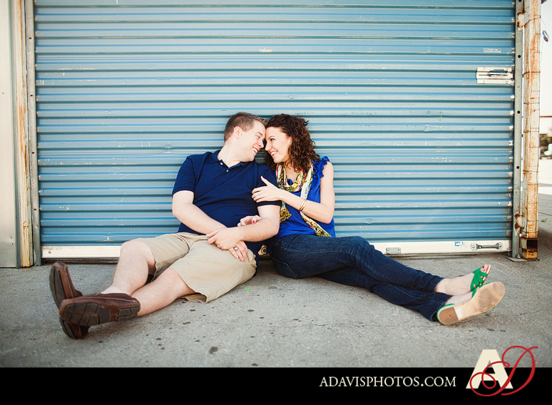 SarahJosh Romantic Picnic Engagement Portraits by Dallas Wedding Photographer Allison Davis Photography 0411 Sarah + Josh: Romantic and Fun Engagement Portrait Picnic & More
