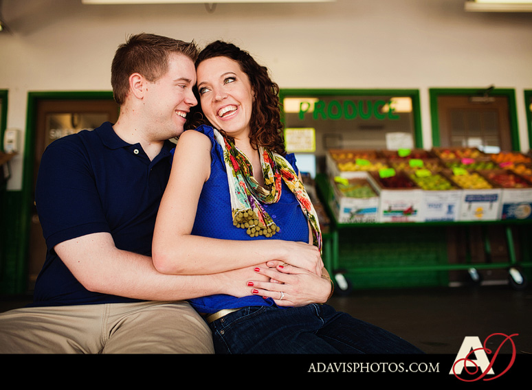 SarahJosh Romantic Picnic Engagement Portraits by Dallas Wedding Photographer Allison Davis Photography 0441 Sarah + Josh: Romantic and Fun Engagement Portrait Picnic & More