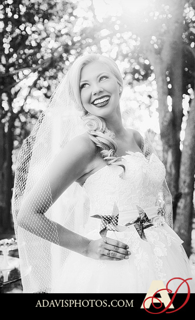 Americana Bridal Session byAllisonDavisPhotography 018 BW1 Jessica: Americana Styled Bridal Session at the Milestone in Denton