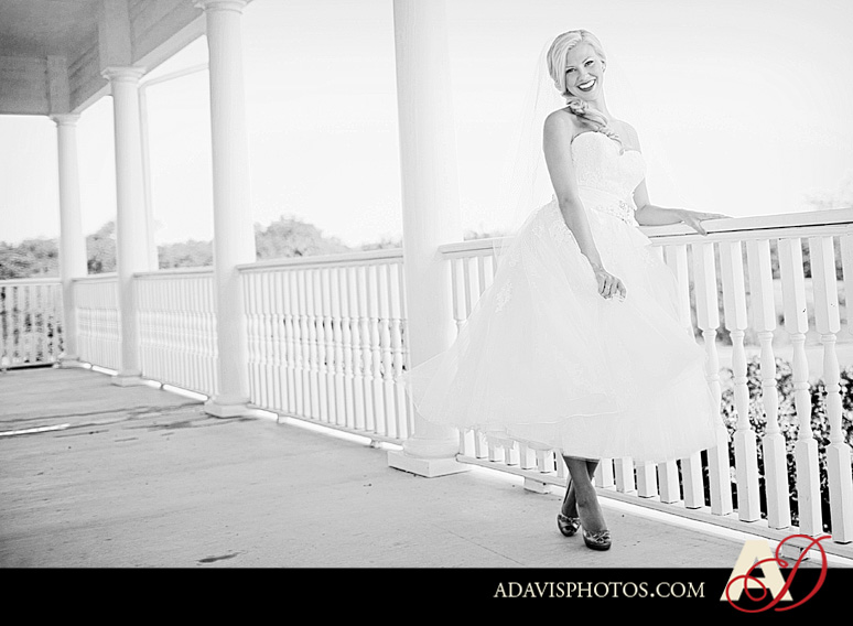 Americana Bridal Session byAllisonDavisPhotography 086 BW Jessica: Americana Styled Bridal Session at the Milestone in Denton