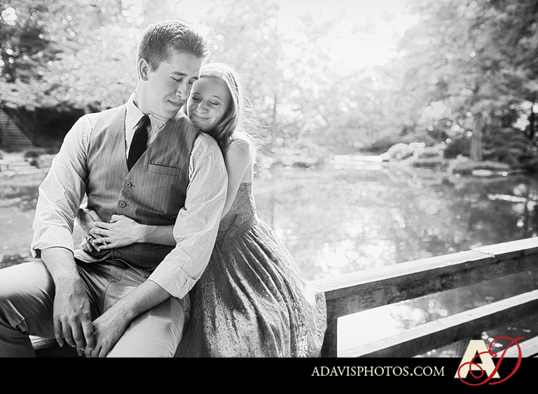 ClaireJeremy FortWorth EngagementPortraits byAllisonDavisPhotography 003 Claire + Jeremy: Engagement Portraits at the Japanese Gardens & Downtown Fort Worth
