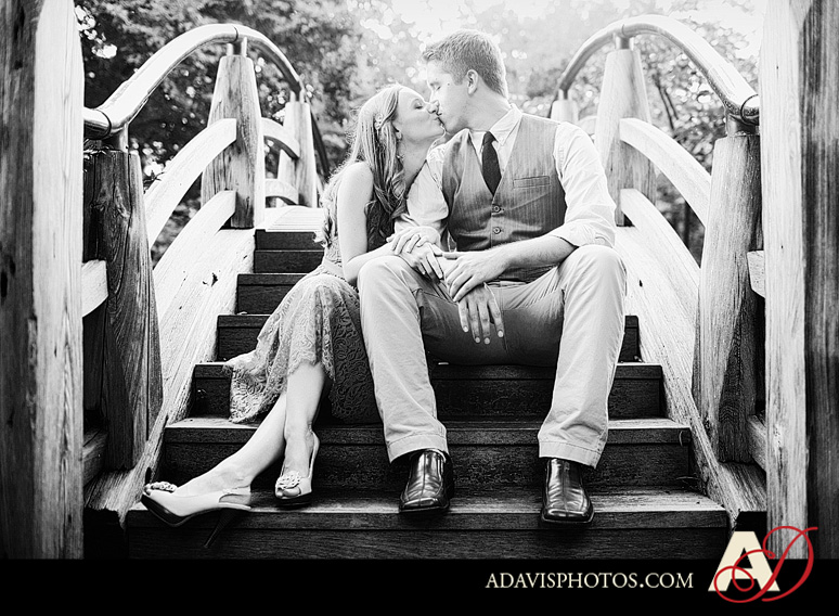 ClaireJeremy FortWorth EngagementPortraits byAllisonDavisPhotography 011 Claire + Jeremy: Engagement Portraits at the Japanese Gardens & Downtown Fort Worth