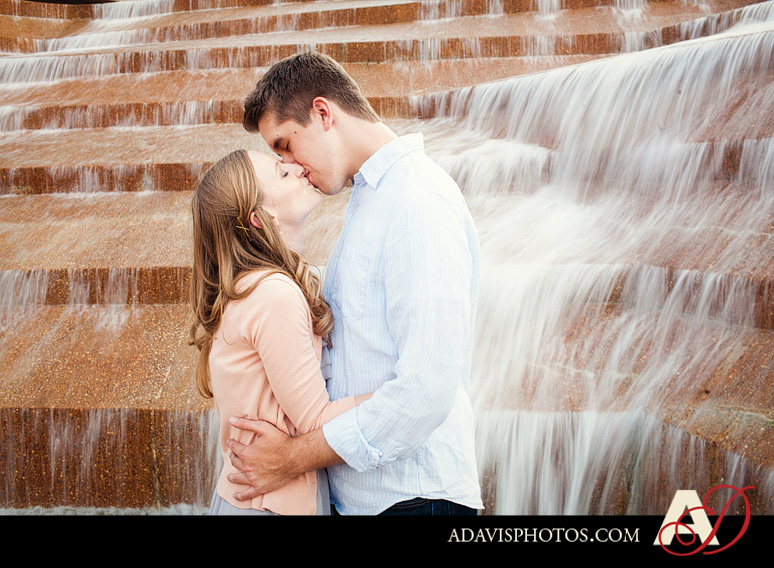 ClaireJeremy FortWorth EngagementPortraits byAllisonDavisPhotography 023 Claire + Jeremy: Engagement Portraits at the Japanese Gardens & Downtown Fort Worth