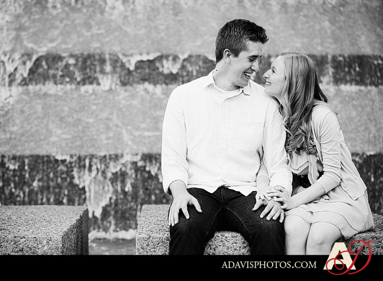 ClaireJeremy FortWorth EngagementPortraits byAllisonDavisPhotography 024 Claire + Jeremy: Engagement Portraits at the Japanese Gardens & Downtown Fort Worth