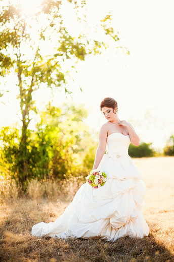 romantic and elegant country and southern bridal portraits by Allison Davis Photography