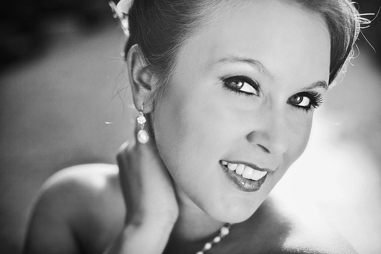 Bridal portraits at the SMU campus by Allison Davis Photography