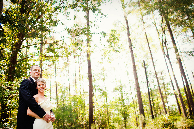 romantic and natural wedding day portraits by Allison Davis Photography