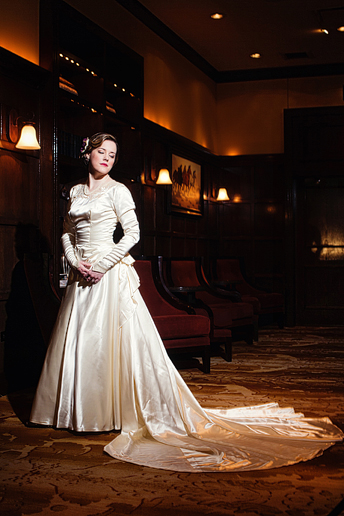 off camera lighting bridal portraits by Allison Davis Photography at the Westin Stonebriar hotel