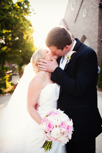 romantic and beautiful bride and groom portraits by Allison Davis Photography at Aristide in Mansfield