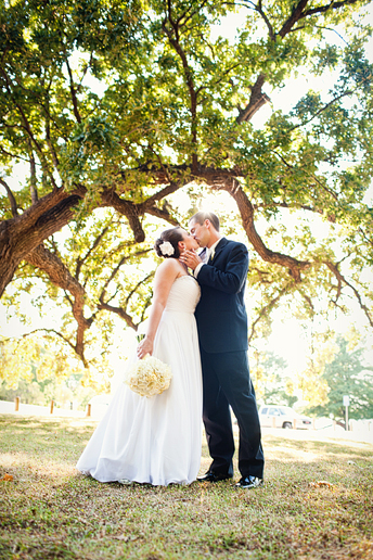 wedding photographs at White Rock Lake by Allison Davis Photography
