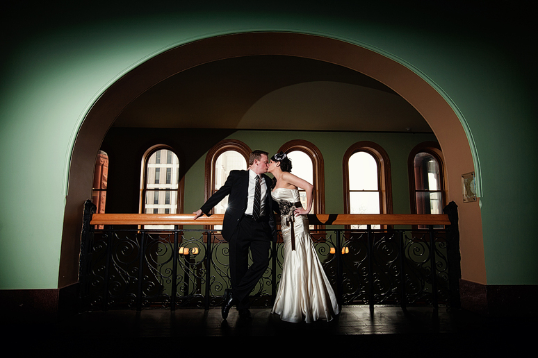wedding photographs at the Old Red Courthouse by Allison Davis Photography