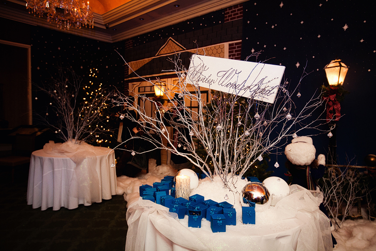 winter wonderland wedding decor ideas