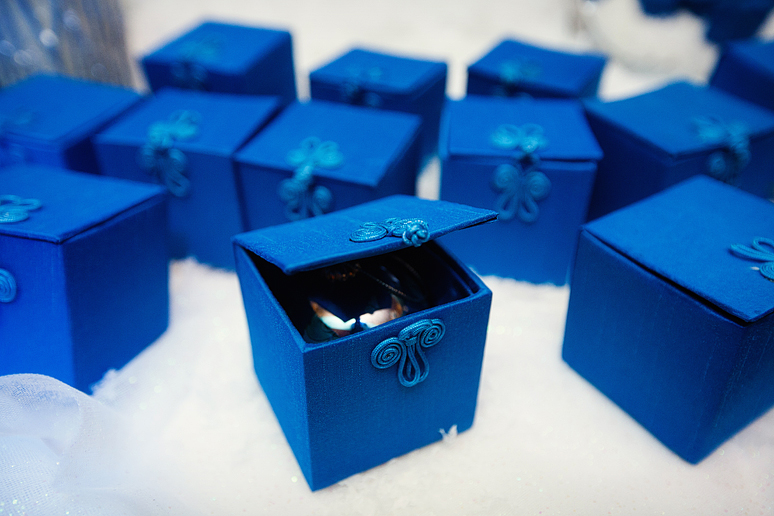 winter wedding guest favors