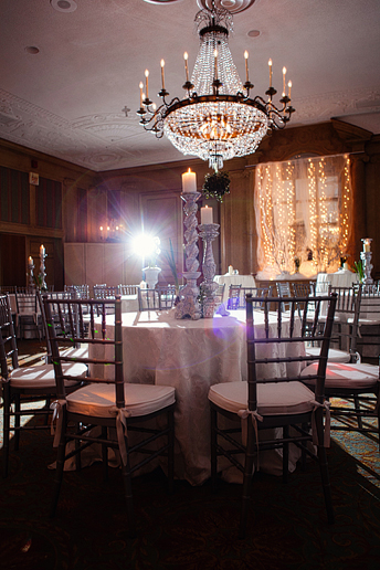 fort worth club wedding reception decor