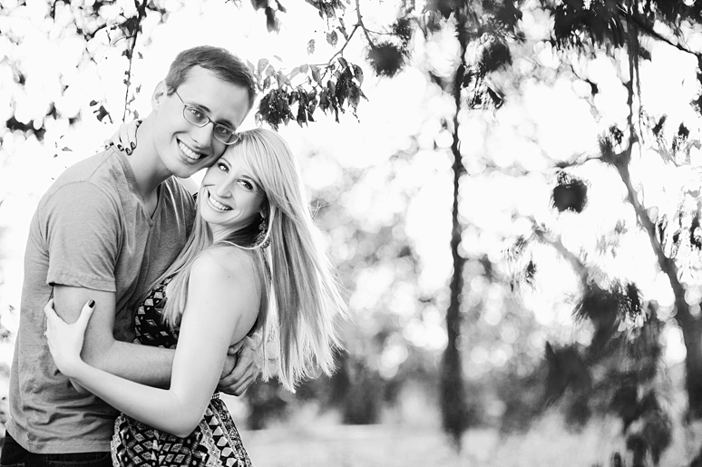 Hannah  amp  Sam  Engagement Portraits in Downtown Celina  Dallas