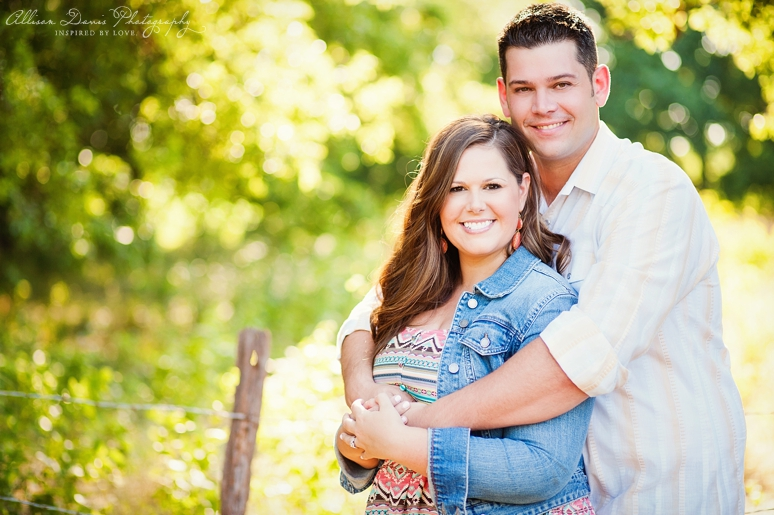 Kendall Mike Country Engagement Portraits byAllisonDavisPhotography  008 <span>Kendall & Mike:</span><br/>Country Rustic Engagement Portraits in Prosper<br/>{Dallas Wedding Photographer}