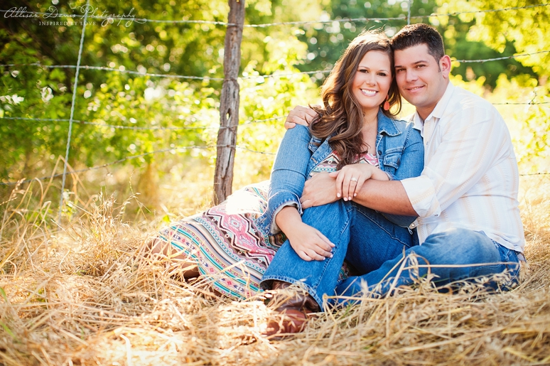 Kendall Mike Country Engagement Portraits byAllisonDavisPhotography  009 <span>Kendall & Mike:</span><br/>Country Rustic Engagement Portraits in Prosper<br/>{Dallas Wedding Photographer}