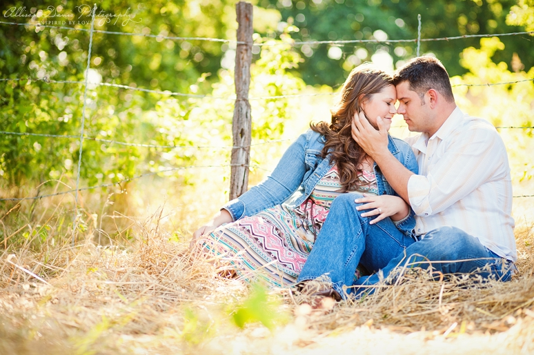 Kendall Mike Country Engagement Portraits byAllisonDavisPhotography  010 <span>Kendall & Mike:</span><br/>Country Rustic Engagement Portraits in Prosper<br/>{Dallas Wedding Photographer}