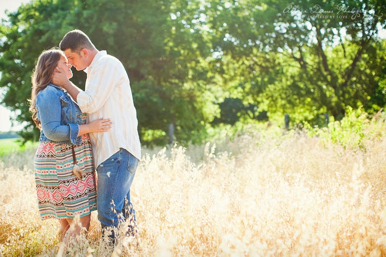Kendall Mike Country Engagement Portraits byAllisonDavisPhotography  012 <span>Kendall & Mike:</span><br/>Country Rustic Engagement Portraits in Prosper<br/>{Dallas Wedding Photographer}