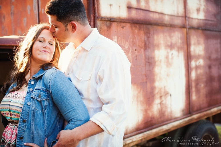 Kendall Mike Country Engagement Portraits byAllisonDavisPhotography  019 <span>Kendall & Mike:</span><br/>Country Rustic Engagement Portraits in Prosper<br/>{Dallas Wedding Photographer}