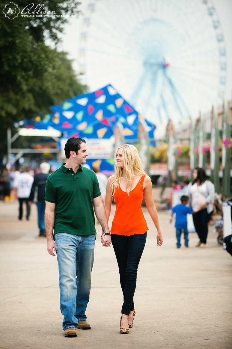 Loren Matt Dallas Engagement Portraits State Fair of texas byAllisonDavisPhotography 012 <span>Loren & Matt:</span><br/>Engagement Portraits in Downtown Dallas & at the State Fair of Texas<br/>{Dallas Engagement Portrait Photographer}