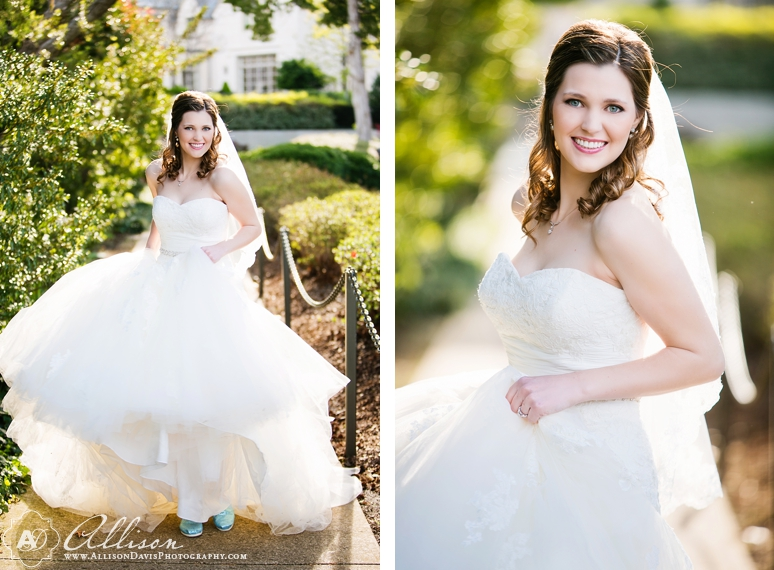 Amanda Dallas Bridal Portraits at Lakeside Park byAllisonDavisPhotography 003 <span>Amanda:</span><br/>Bridal Portraits at Lakeside Park & Versailles Park