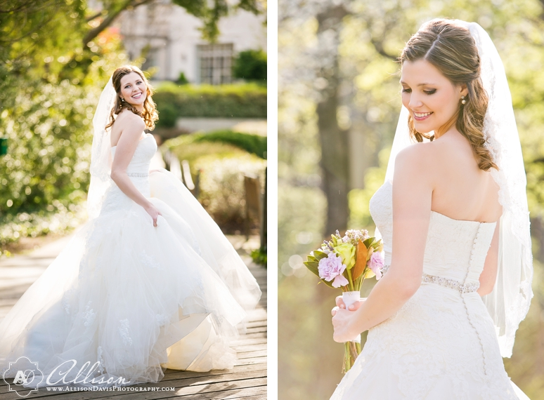Amanda Dallas Bridal Portraits at Lakeside Park byAllisonDavisPhotography 005 <span>Amanda:</span><br/>Bridal Portraits at Lakeside Park & Versailles Park