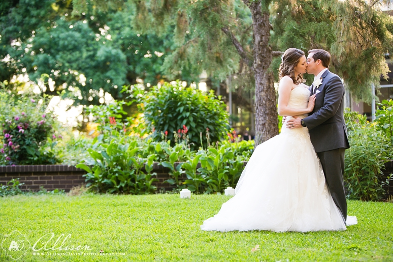 Amanda Justin Wedding at Texas Discovery Gardens by Dallas Wedding Photographer Allison Davis Photography 023 <span>Amanda & Justin:</span><br/>Wedding at East Dallas Christian Church & The Texas Discovery Gardens
