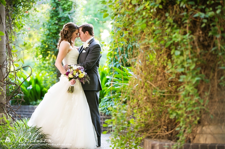 Amanda Justin Wedding at Texas Discovery Gardens by Dallas Wedding Photographer Allison Davis Photography 024 <span>Amanda & Justin:</span><br/>Wedding at East Dallas Christian Church & The Texas Discovery Gardens