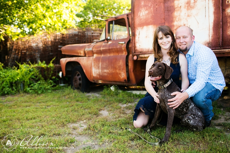 Taylor Joey Prosper Texas Country Engagement Portraits by Allison Davis Photography 009 <span>Taylor & Joey:</span><br/>Engagement Portraits in Prosper, Texas