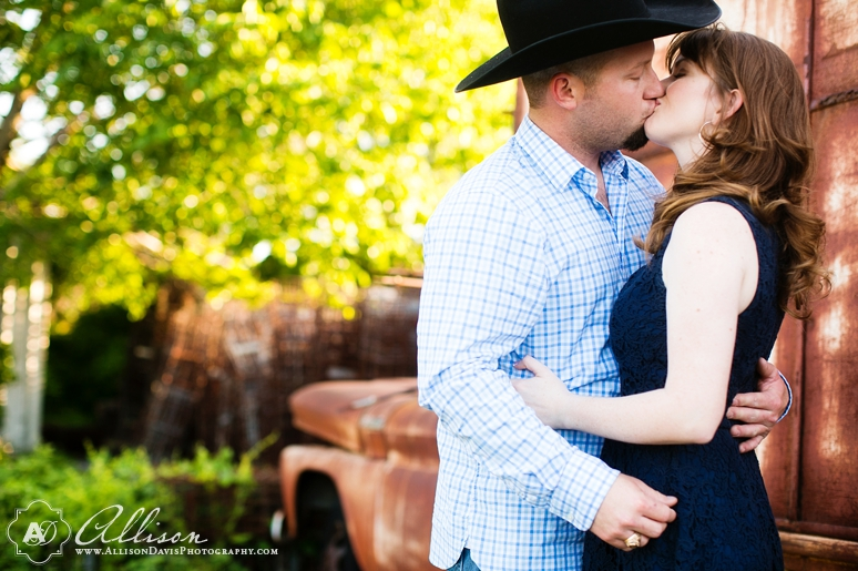 Taylor Joey Prosper Texas Country Engagement Portraits by Allison Davis Photography 010 <span>Taylor & Joey:</span><br/>Engagement Portraits in Prosper, Texas