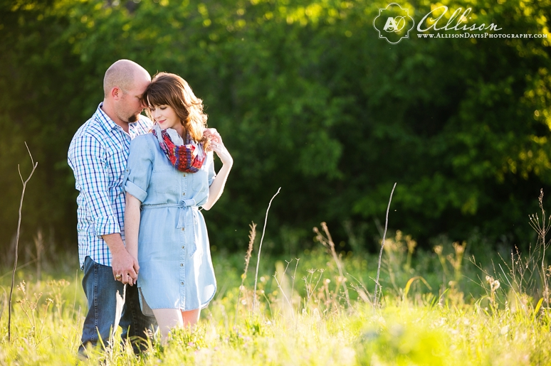 Taylor Joey Prosper Texas Country Engagement Portraits by Allison Davis Photography 012 <span>Taylor & Joey:</span><br/>Engagement Portraits in Prosper, Texas