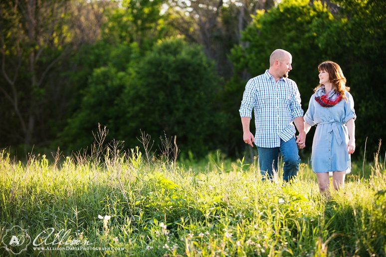 Taylor Joey Prosper Texas Country Engagement Portraits by Allison Davis Photography 013 <span>Taylor & Joey:</span><br/>Engagement Portraits in Prosper, Texas